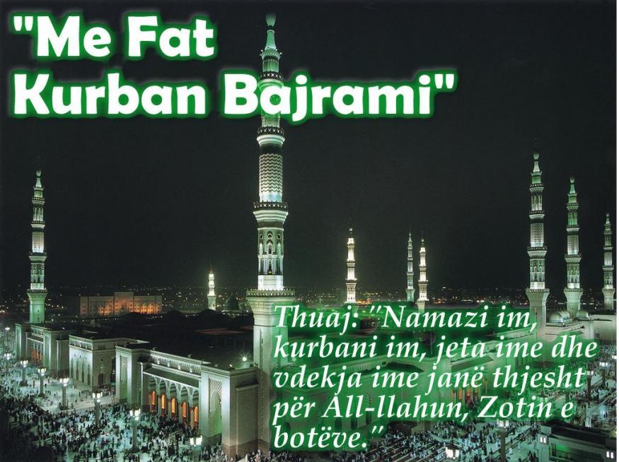 ALABNER.NO uron gjithë besimtarëve të fesë muslimane,