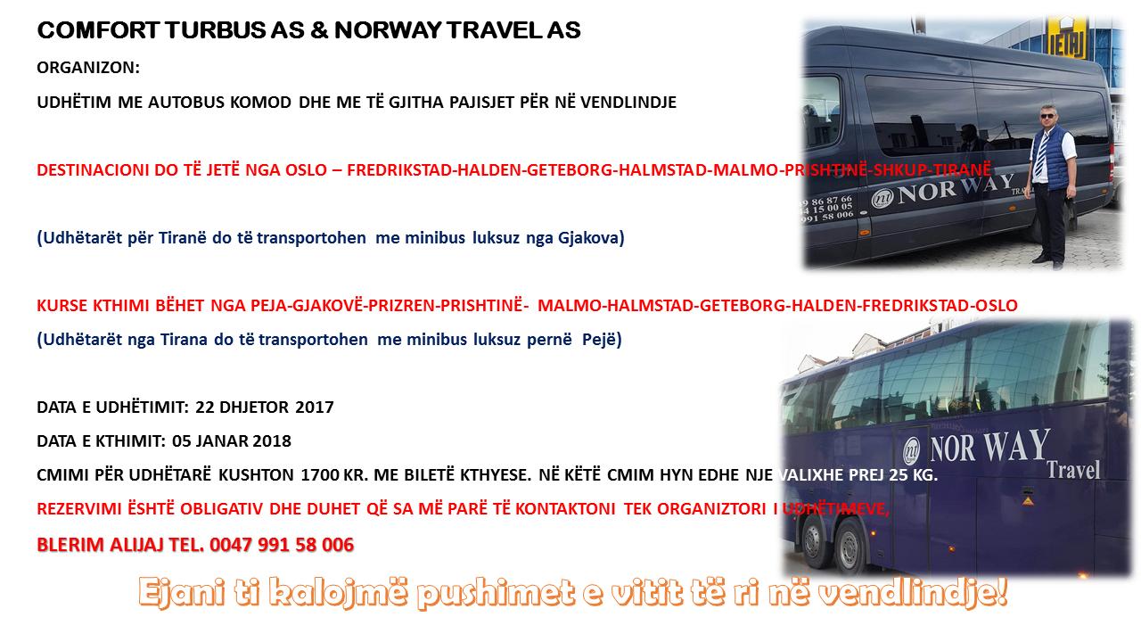 Udhëtime  me autobus luksoz