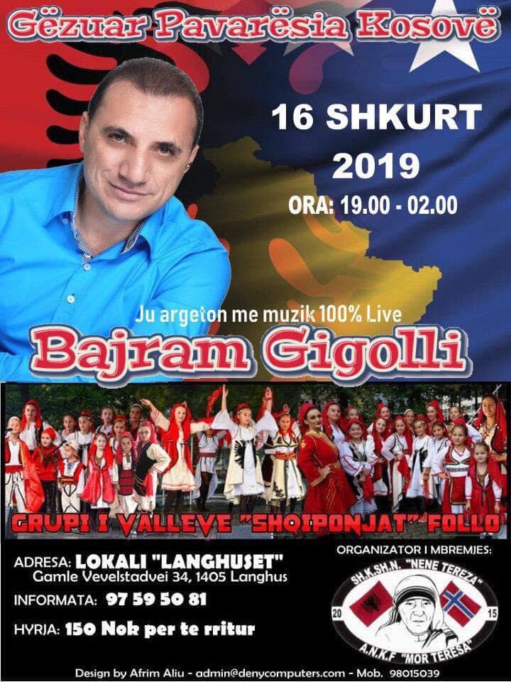 Gëzuar Pamvarsia Kosovë