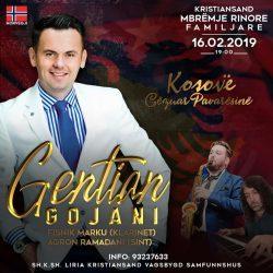 Event festiv në Kristiansand 16 shkurt 2019 Gezuar Pamvarsin Kosovë
